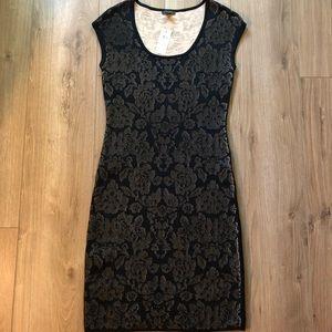 SALE⚡️ NWT Black Lace Sweater Dress XS